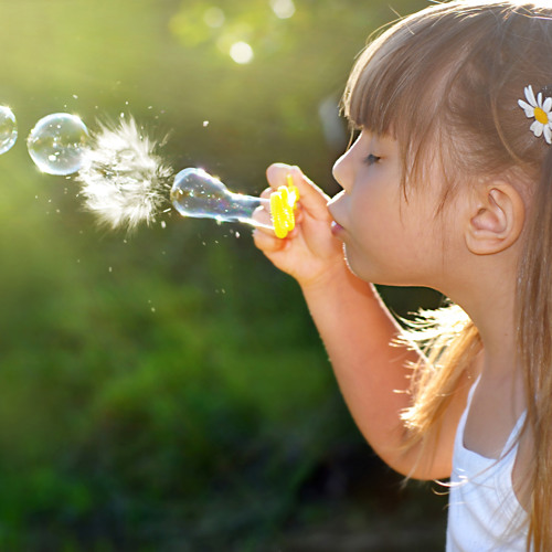 Мыльные пузыри в домашних условиях для детского 34