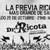 DR. RICOTA - SÁBADO 25 DE OCTUBRE / MOLINO MARCONETTI 21HS