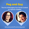 Guy Kawasaki and Peg Fitzpatrick   The Art of Managing Your Social Content (for Optimal Visibility!)