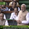 Government's only religion is India First: PM in the Lok Sabha