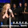 Mariah Carey - H.A.T.E.U.  (David Letterman 2009)