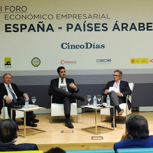 II Foro Económico España - Países árabes. Bienvenida y Panel 3: Energías renovables