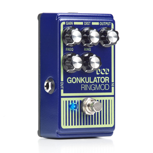 Light ring and distortion with the Gonkulator by DigiTech FX