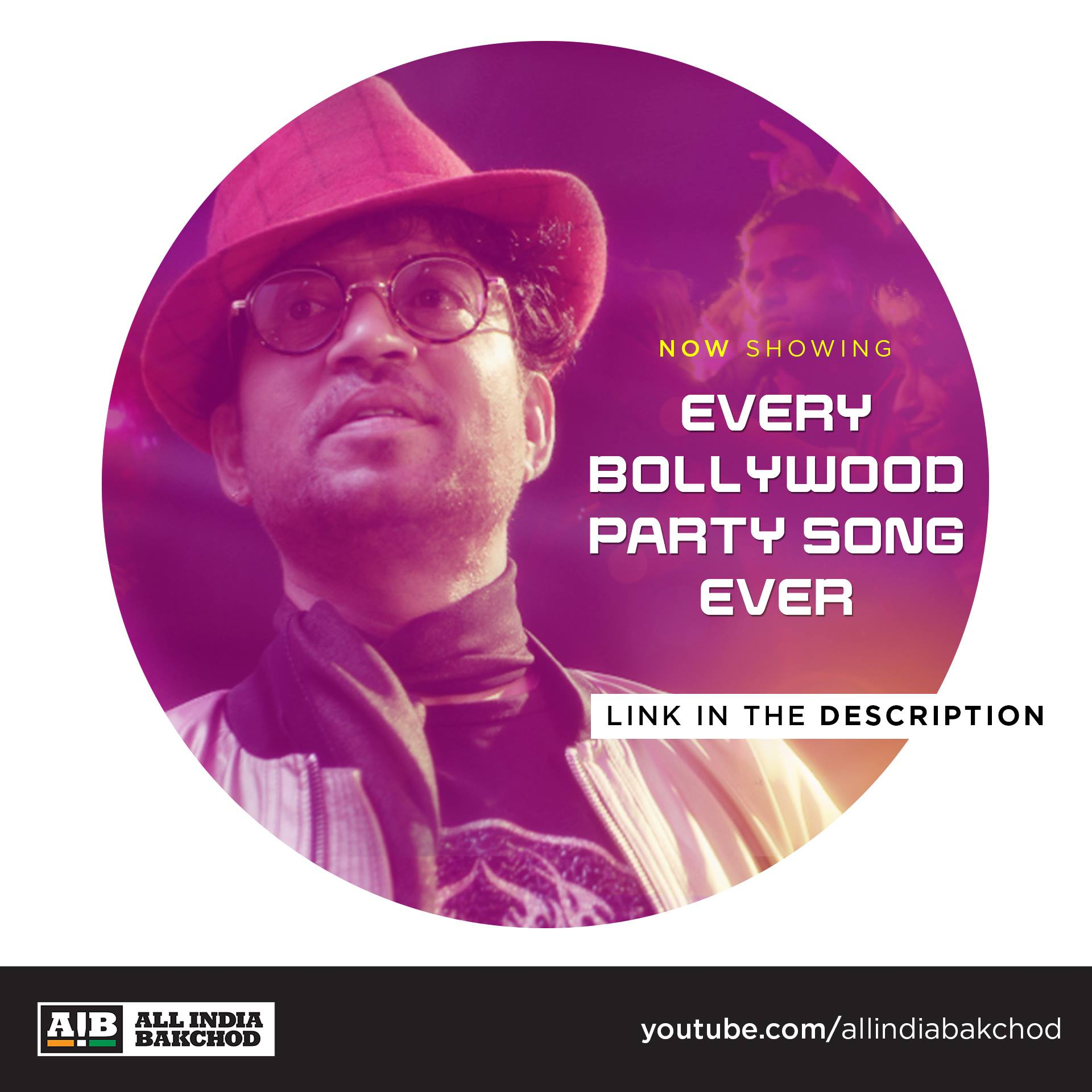 AIB : Every Bollywood Party Song feat  Irrfan Khan from All