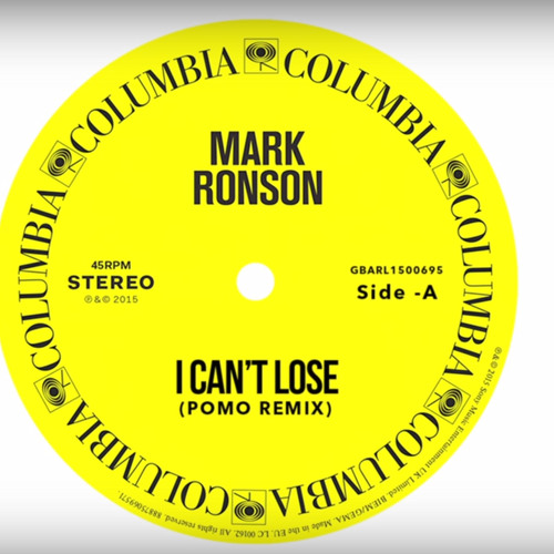 Mark Ronson - I Can't Lose Ft. Keyone Starr (Pomo Remix)