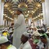 Adzan ashar di masjid nabawi
