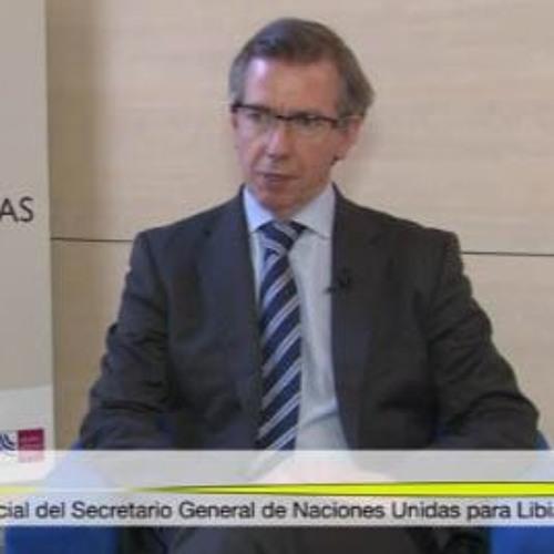 Entrevista a Bernardino León, Representante Especial del Secretario General de NNUU para Libia