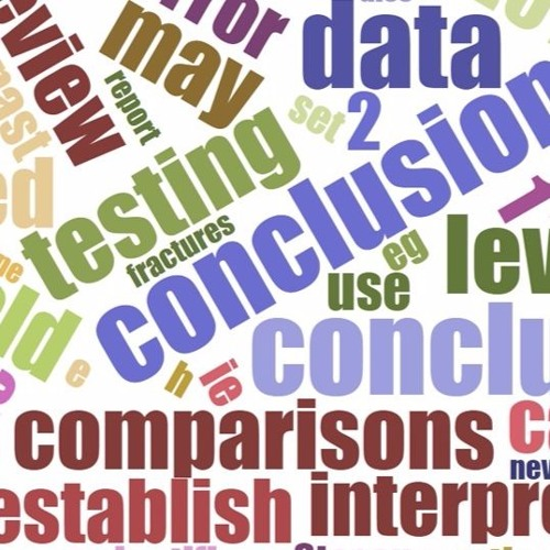 Article - Strength of Conclusions