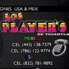 LOS PLAYER'S DE TUZANTLA  FLOR HERMOSA VÍDEO OFICIAL 2016.