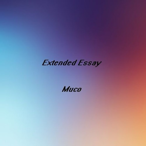 music extended essay An extended essay is a type of academic writing assignment, which success depends on the structure except for selecting a topic, researching, and pinning down the main question, it is critical to decide on the structure as an extended essay has to be long.