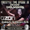PROMO FREESTYLE TIME EP22 DEEJAY OZON LLEIDA HARDSESSIONS