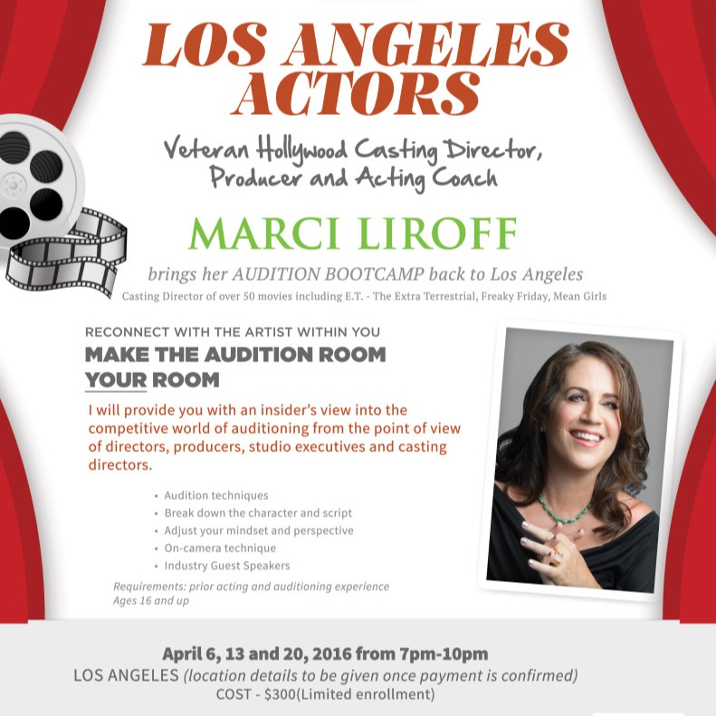 Will Roberts Host Of ActingUpRadio.com talks with Marci Liroff and Actors Bootcamp!