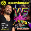 Oscar Velazquez MASTERBEAT *WE PARTY* GRAFFITI NYC PRIDE 2016