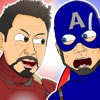 ♪ CAPTAIN AMERICA- CIVIL WAR THE MUSICAL - Animated Song Parody