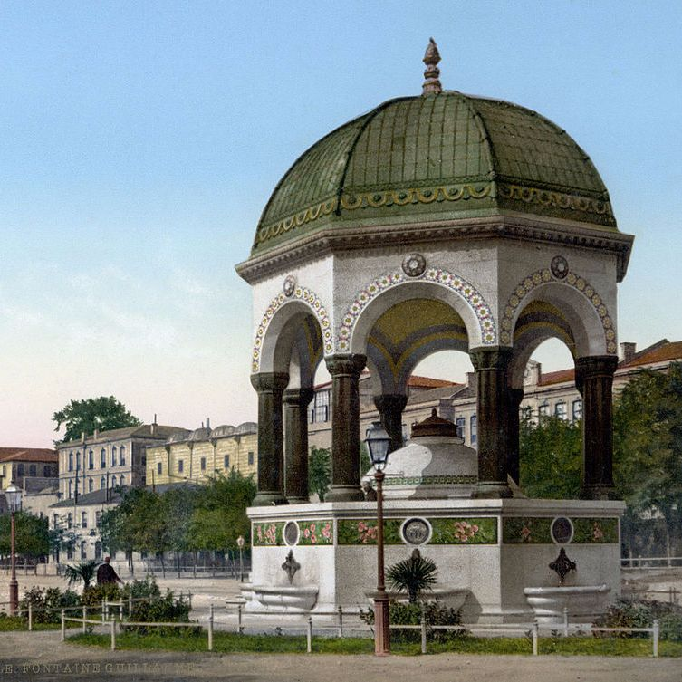 The German Imperial Fountain in Istanbul | Lorenz Korn