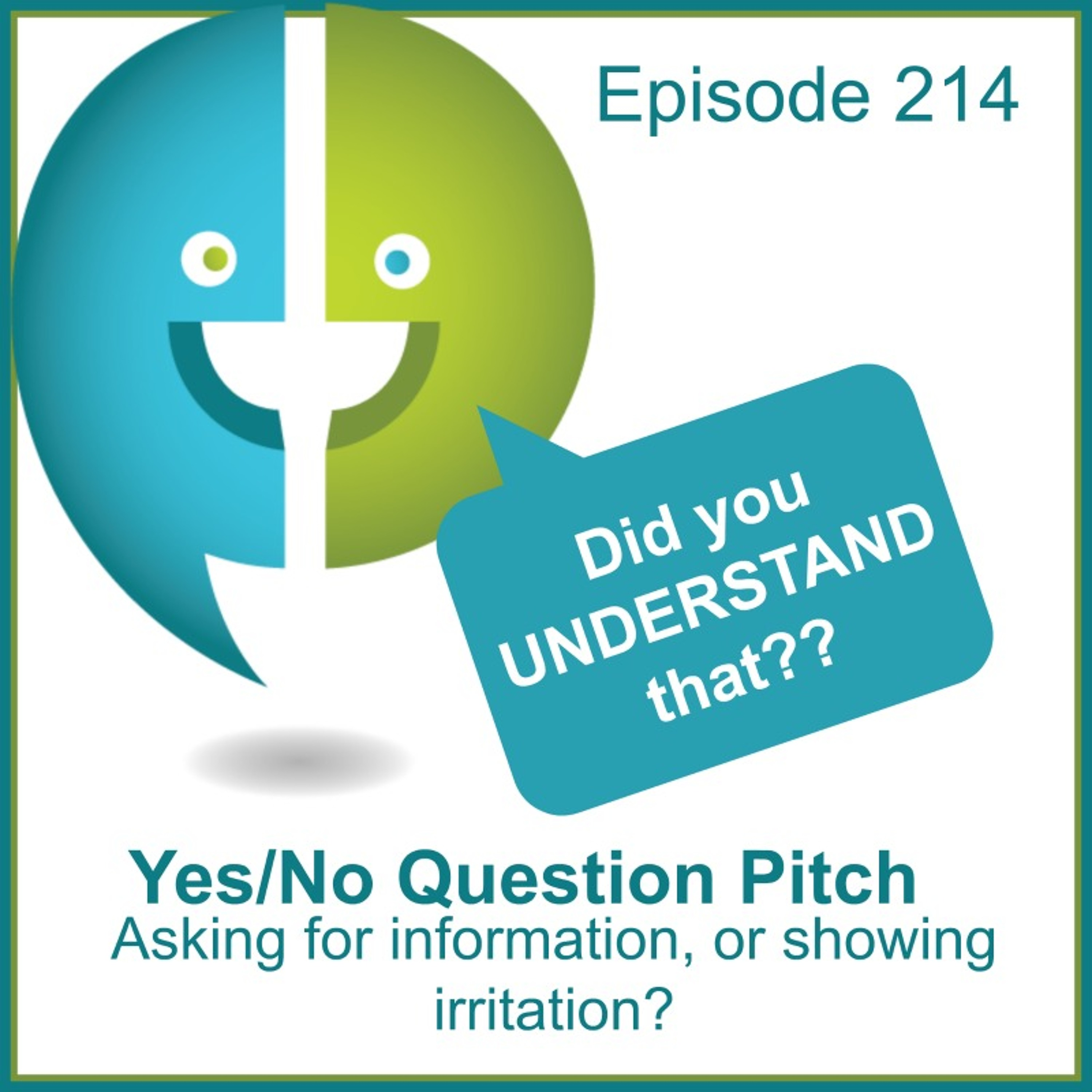 214: Yes/No Pitch Patterns