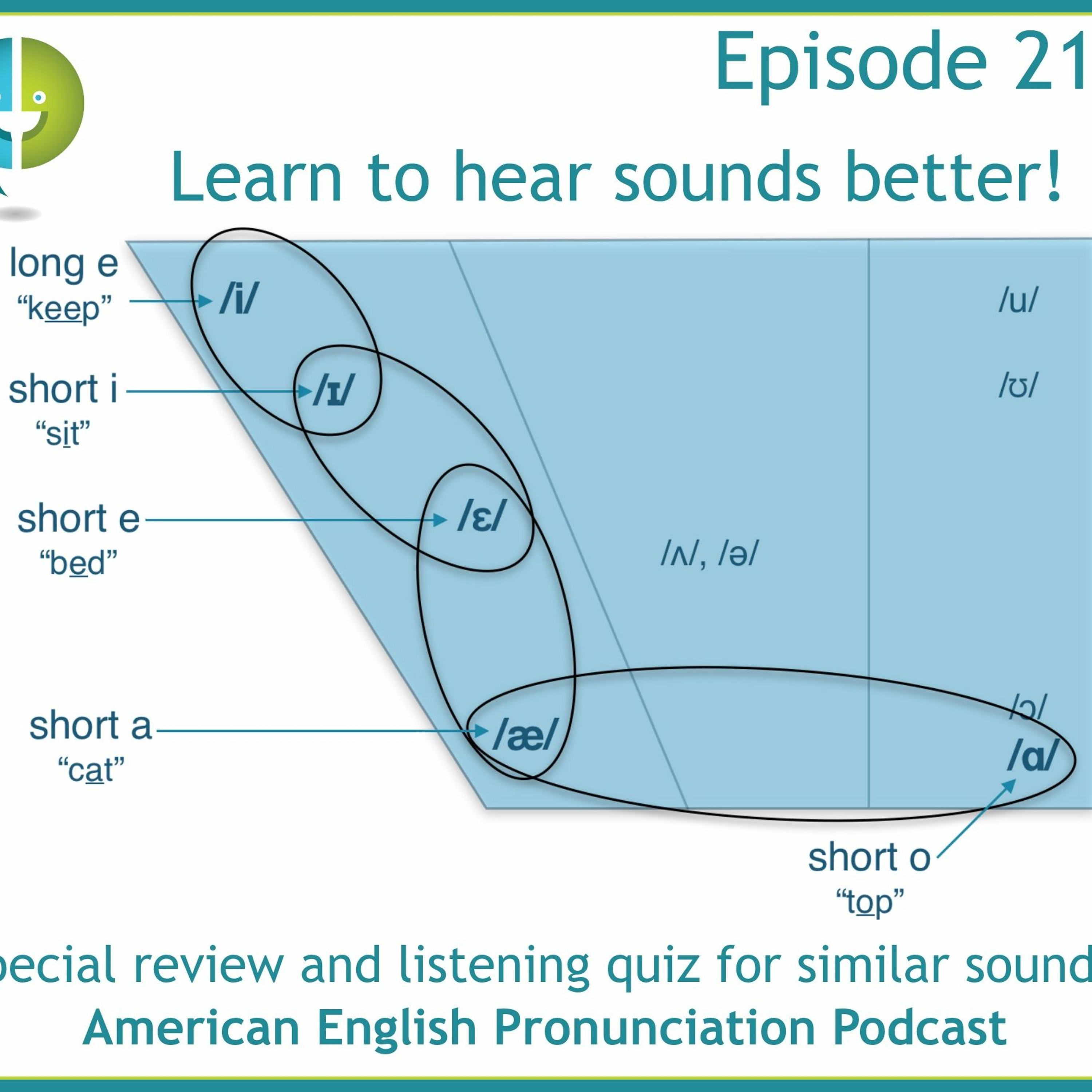 218: Learn to hear vowels to learn to pronounce them