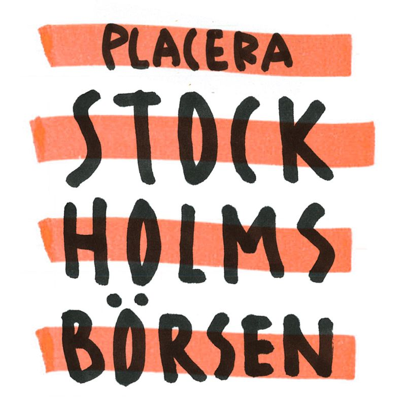 Placeras STOCKholmsbörsen