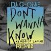 Maroon 5 - Don`t Wanna Know (DJ G-One Remix)
