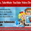 Por último, TubeMate YouTube Video Descargador en inglés para las personas que viven en España