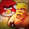 Clash Of Clans VS. Angry Birds [Batalha De Gigantes]
