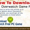 How To Download Cracked Overwatch Game For Free?.mp3