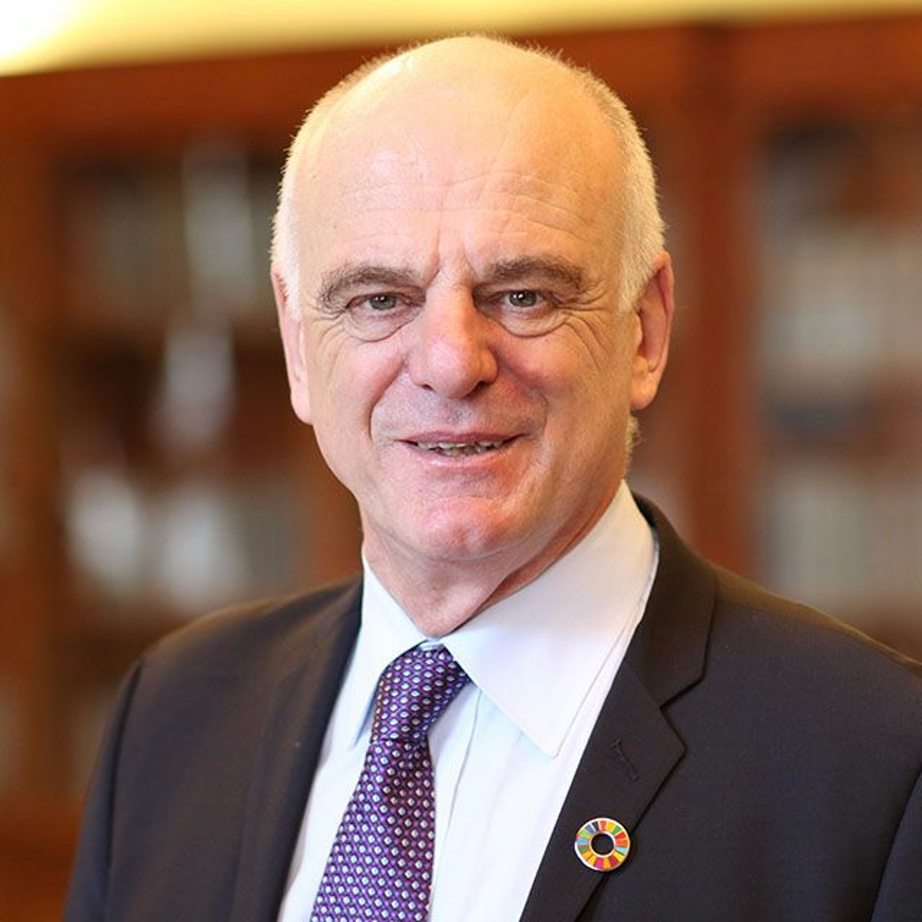 Meet Dr Nabarro – The best candidate for WHO Director General: A Podcast with Dr David Nabarro