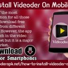 How To Install Videoder On Mobile Phones?.mp3