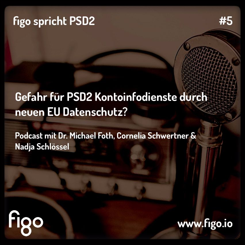 Gefahr für PSD2 Kontoinfodienste durch neuen EU Datenschutz? Ep.5