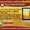 Manual passo a passo para baixar o aplicativo SnapTube no Mac PC para baixar vídeos do YouTube.mp3