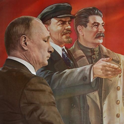 с путиным сталин фото