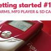 11 Alarms, MP3 player & SD Card