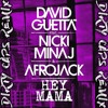 Hey Mama [feat. Nicki Minaj, Bebe Rexha & Afrojack] (Dirty Caps Remix)