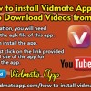 How To Install Vidmate App On IPhone To Download Videos From YouTube?