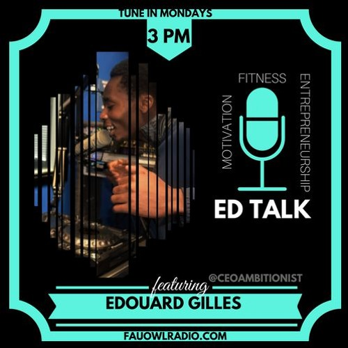ED TALK Pilot Episode 1   College Advice, It's all About Grit by FAU Owl Radio