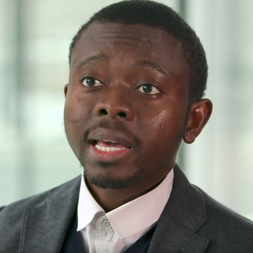 Adebayo Alonge explains how RxAll's AI-driven spectrometer authenticates medicines