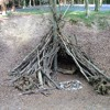 How to build a simple den with Jack from the Scouts