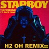 The Weeknd ft: Daft Punk [H2 OH remix]