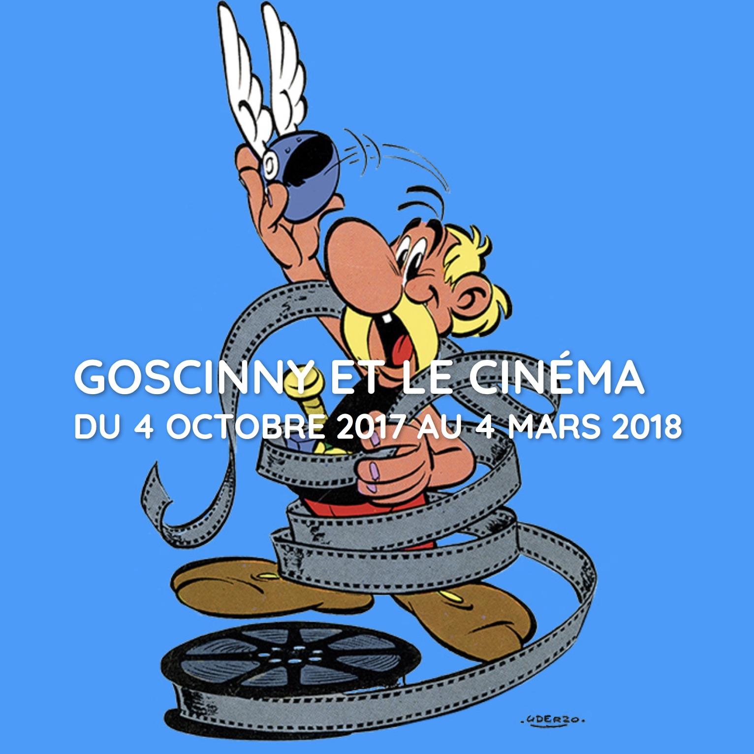 « Goscinny et le Cinéma » par Jean-Pierre Mercier et autres immanquables, dans l'agenda de décembre.