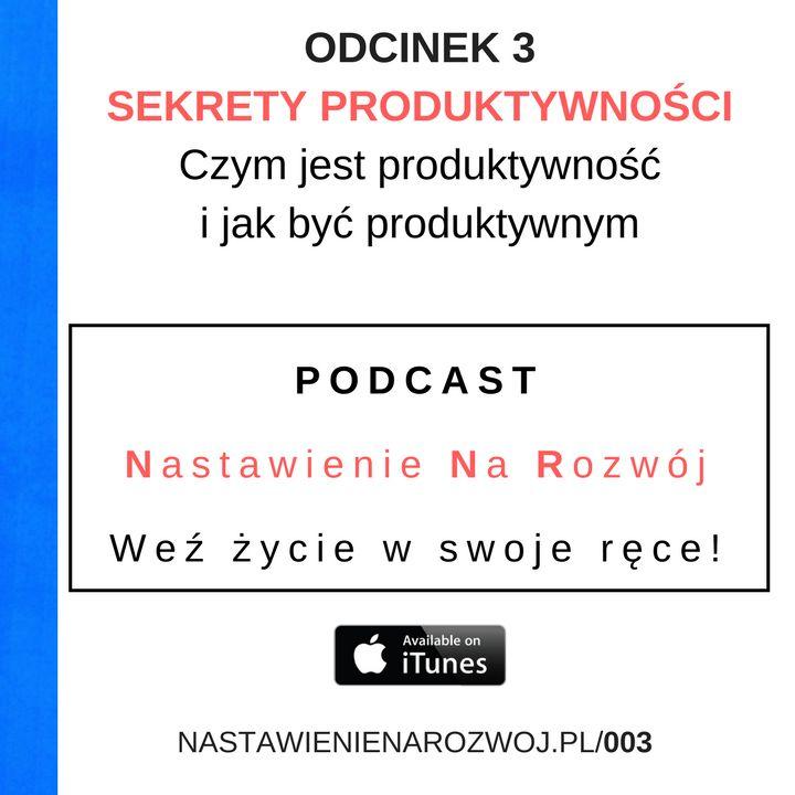 NNR 003: Sekrety produktywności