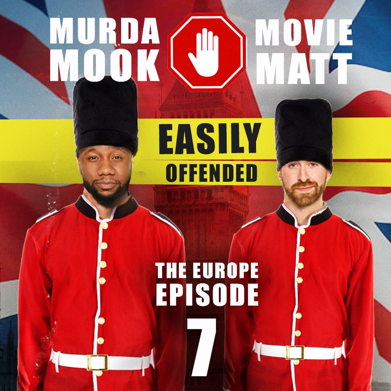 Ep. 7 - Mook & Matt visit the UK & chat with locals about Trump, Oprah, H+M and more!