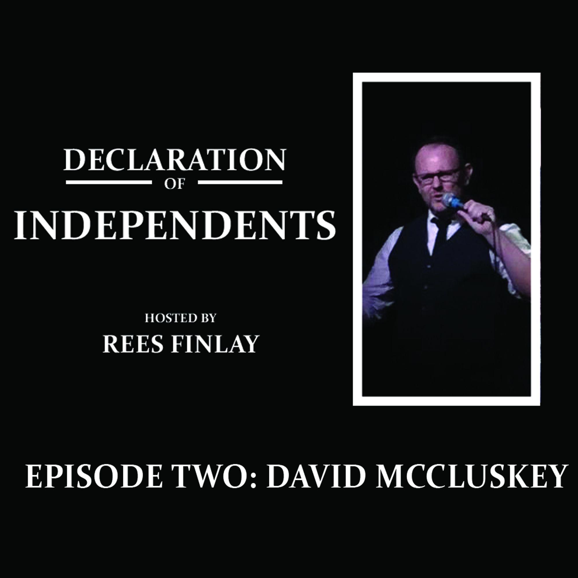 Episode Two: David McCluskey