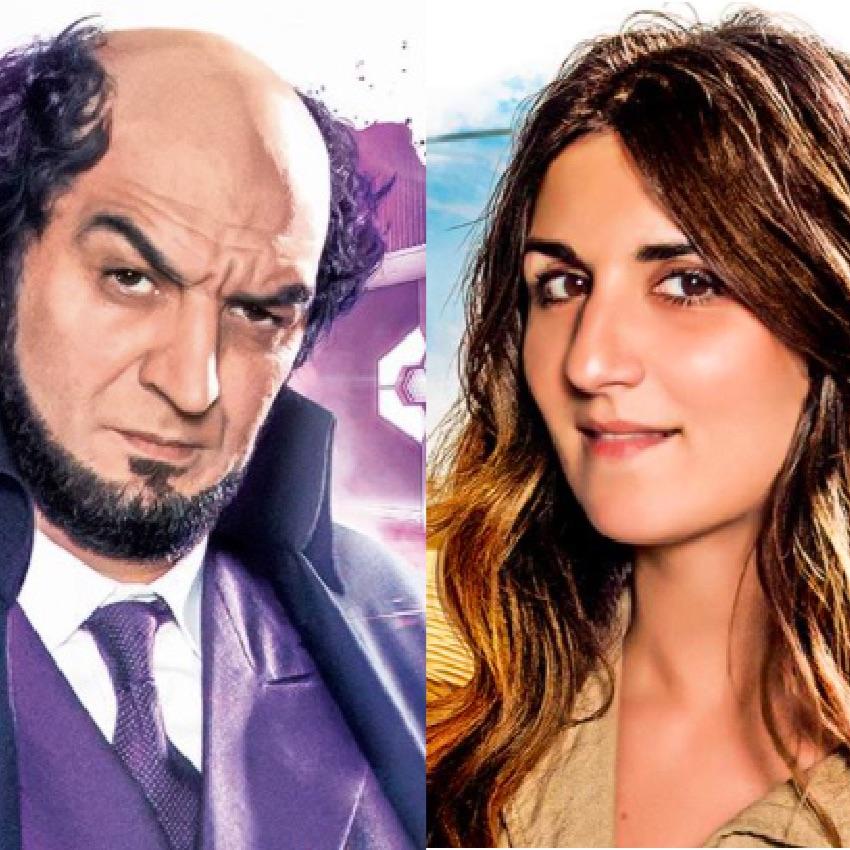 Ramzy Bédia & Géraldine Nakache : Complicité, Coiffure et Bande dessinée