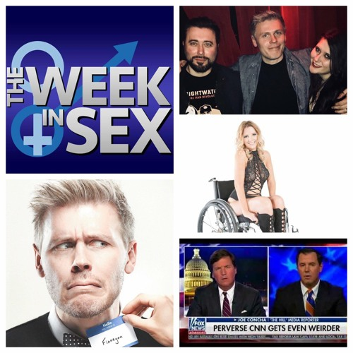 The Week In Sex - S3E7 Comedian Christian Finnegan/Tantric Sex with Barney/Paralyzed Bride/CNN Cuckold Expert