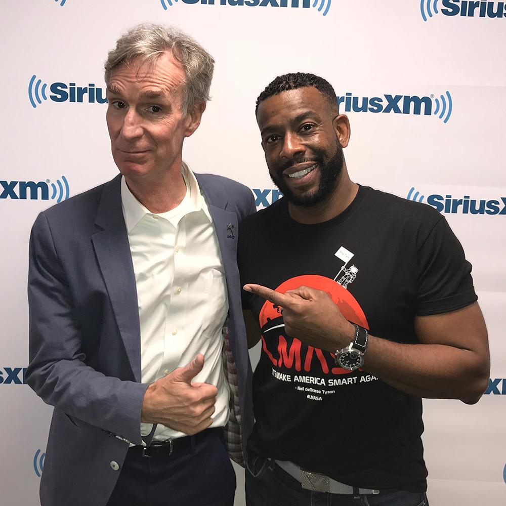 Bill Nye Live from Sirius…XM