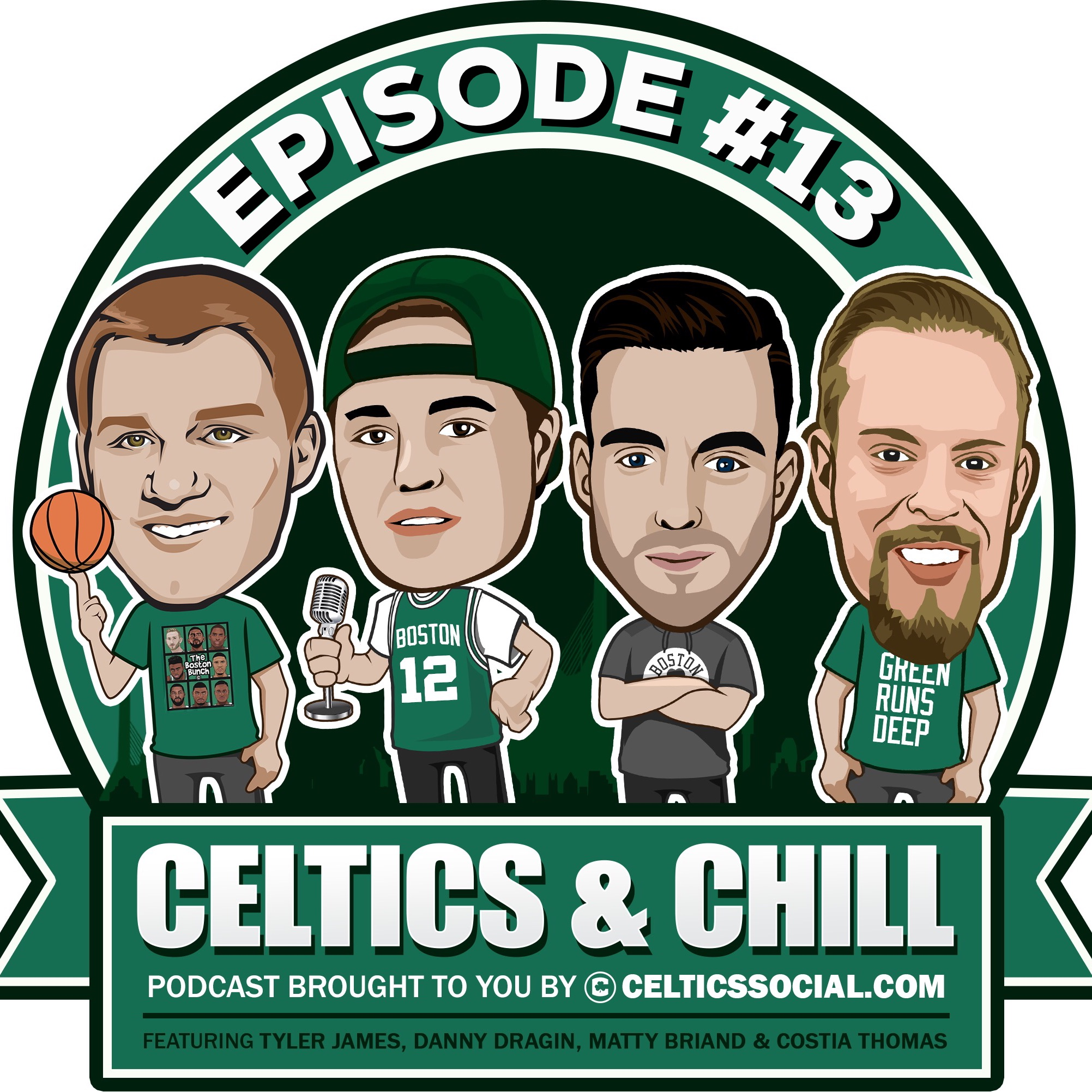 "#13 - The Celtics vs Jazz + Jaylen vs Jae, Celtics ""Where Are They Now"", and Rozier vs Smart!"