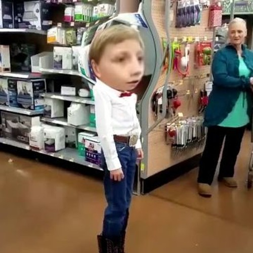 kid singing in walmart [edm flip] by Lowercase