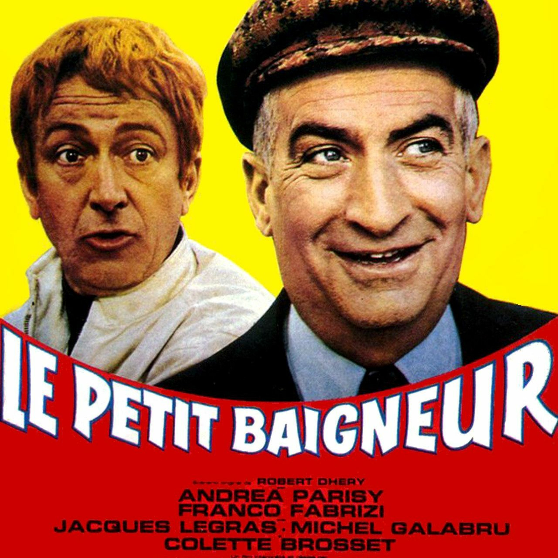 LE PETIT BAIGNEUR avec Louis De Funès - CRITIQUE DE FILM -