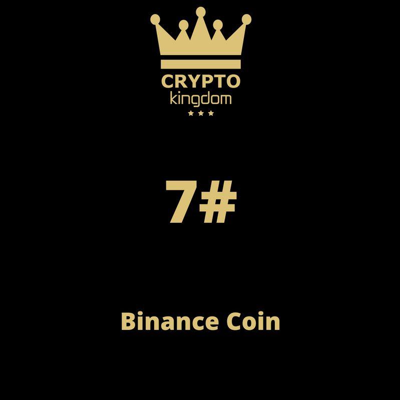 07. Binance Coin (BNB)