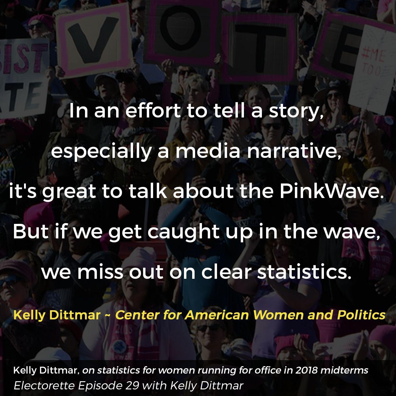 EPISODE TWENTY-NINE | Kelly Dittmar, GenderWatch 2018 & Political Strategy